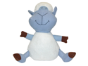 Vo-Toys Mischievous Sheep Plush 12in Dog Toy