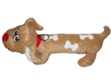 Vo-Toys Hot Dog Spot 16in Super Size Dog Toy