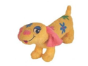 Vo-Toys Hot Dog Flower Power Super Size 16in Dog Toy