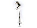 "Curved Eyebrow Barbell - Dolphin: 16g 5/16"" High Polish"