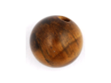 Stone Captive Bead: 4mm Tiger's Eye (SOLD INDIVIDUALLY. ORDER TWO FOR A PAIR.)