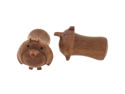 Pair of Sabo Wood Penga Plugs: 2g