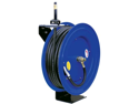 "Cyclone Pneumatic CP3690 3/8"" x 100' Retractable Air Compressor Rubber Hose Reel"
