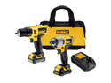 DCK211S2 12V Max Cordless Lithium-Ion 3/8 in. Drill Driver and Impact Driver Combo Kit