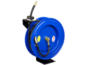 "Cyclone Pneumatic CP3688 3/8"" x 50' 300 PSI Retractable Air Compressor Hose Reel"