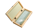 50 Prepared Microscope Slides w/ Wooden Case