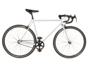 White Track Fixed Gear Bike Fixie Single Speed Road Bike - 50cm