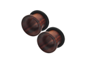 00G (10mm) - Organic Sono Wood Single Flared Tunnel Plugs - Pair
