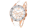 MARC JACOBS CHRONOGRAPH SILICONE LADIES WATCH