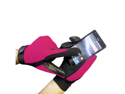 Touch Screen Black Boss Tech Mechanic Gloves BTP-GLV-MECPINK (Pink)