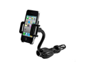 ZTE Flash Car Mount and Charger w/ USB Port (Black)