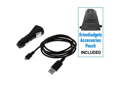 Huawei Ascend Y 2-in-1 Sync & Charge USB Travel Kit (USB Cable & Car Adapter)
