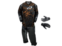 Planet Eclipse 2012 EVX Distortion Paintball Pants, Jersey, Gloves - Aztec