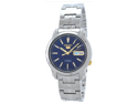 Seiko SNKL79 Seiko 5 Stainless Steel Case and Bracelet Blue Tone DIal Day and Date