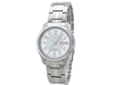 Seiko SNKL89 Seiko 5 Stainless Steel Case and Bracelet White Tone DIal Day and Date