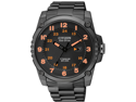 Citizen BJ8075-58F Eco-Drive Titanium Case and Bracelet Black Dial Date Display