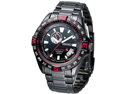 Seiko SSA113 LIMITED EDITION Automatic Stainless Steel Case and Bracelet Black Tone Dial Date Display