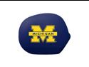 Pilot Automotive Collegiate Mirror Covers Michigan - Large SMC-902L