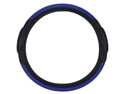 Pilot Racing Style Steering Wheel Cover, Blue / Black SW-68B