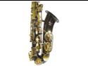 Merano E Flat Black Alto Saxophone with Case