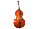 Merano MB10 1/8 Size Natural Student Double Bass with Carrying Soft Bag, Bow + Free Rosin