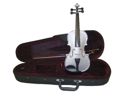 Merano MA400 12 inch Grey Ebony Fitted Viola with Case and Bow