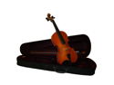 Merano MV10 3/4 Size Natural Student Violin with Case, Bow + Free Rosin