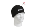 Rothco Watch Cap Polar Fleece in Black with Embroidered Security