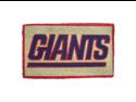 """30"""" New York Giants NFL Football Authentic Logo Indoor Outdoor Welcome Mat"""