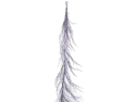 Pack of 3 Halloween Purple Glittered Artificial Branch Garlands 6'