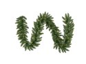 "9' x 14"" Pre-Lit Camdon Fir Artificial Christmas Garland – Clear Lights"