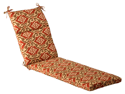 Outdoor Patio Furniture Chaise Lounge Cushion - Vintage Tuscan