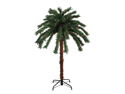 4' Pre-Lit Tropical Outdoor Summer Patio Palm Tree - Multi-Color Lights