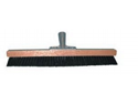 "Magnolia Brush 4020 18"" Stiff Black Nylon Carpet Pile Brush"