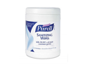 9113-06 GOJO 270 Count Caniser PURELL Sanitizing Wipes