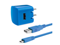 Delton CORE 1AMP 2PC Home Charger Kit for All Micro USB Devices