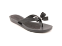 Guess Tutu Womens Size  5 Black Open Toe Flip Flops Sandals Shoes