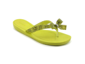 Guess Tutu2 Womens Size 7 Yellow Open Toe Flip Flops Sandals Shoes New/Display