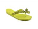 Guess Tutu2 Womens Size 10 Yellow Open Toe Flip Flops Sandals Shoes