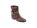 Jessica Bennett Norton Womens Size 5 Brown Textile Fashion Mid-Calf Boots