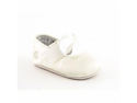 Ralph Lauren Layette Briley Infant Baby Girls Size 1 Ivory Ballet Flats Shoes