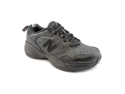 New Balance MX626 Mens Size 13 Black Leather Sneakers Shoes