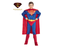 Deluxe Muscle Chest Superman Child ( SIZE - Small )