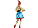 Ms Gnome Adult Costume for Women