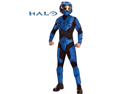 Men's Halo DLX Blue Spartan Adult Costume