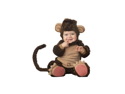 Infant / Toddler Premium Lil Monkey Costume Incharacter Costumes LLC 6005