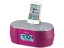 Ihome ID38PVC Ihome id38pvc ipad(r)/iphone(r)/ipod(r) app-enhanced stereo system with dual alarm fm clock radio