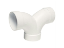 AIRVAC VM105 90? 3-Way T PVC Fittings (Double sweep)
