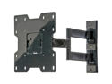 "Peerless PA740 Peerless black 22"" to 40"" pivoting arm lcd wall mount"