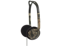 Koss 180701 Koss 180701 over-the-head on-ear mossy oak headphones (green)